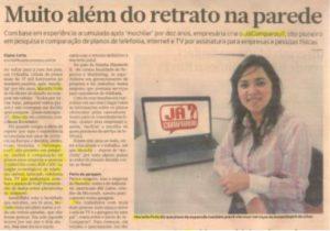 Interview Brazil Econômico Newspaper with Mariella Thamara Pollo